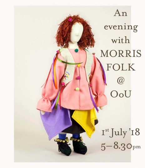 The Museum of British Folklore are exhibiting a selection of dolls from their wonderful Morris Folk project here at Objects of Use in Oxford, from Mon...