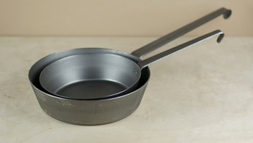 Tyrolean style iron pan 28cm