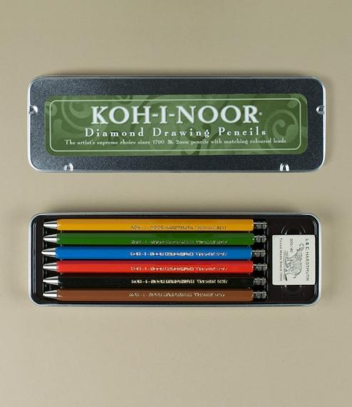 Koh-I-Noor drawing pencils