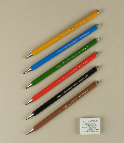 Koh-I-Noor drawing pencils