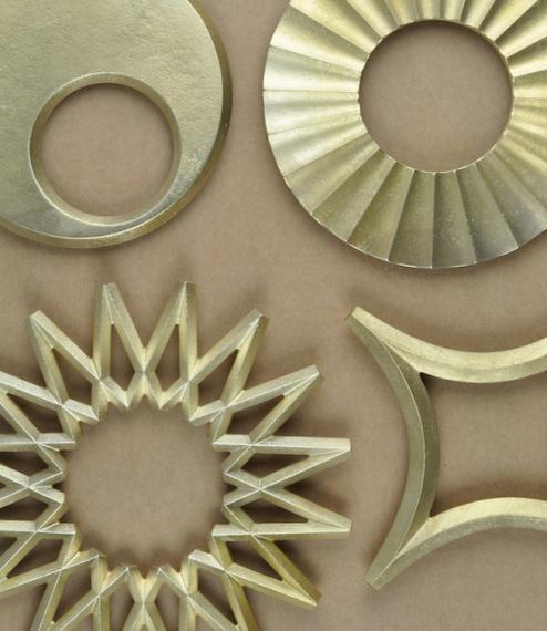 Japanese brass trivets