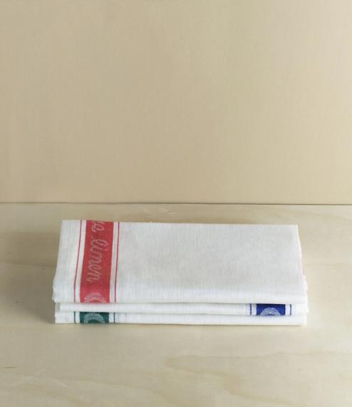 Linen glass cloths
