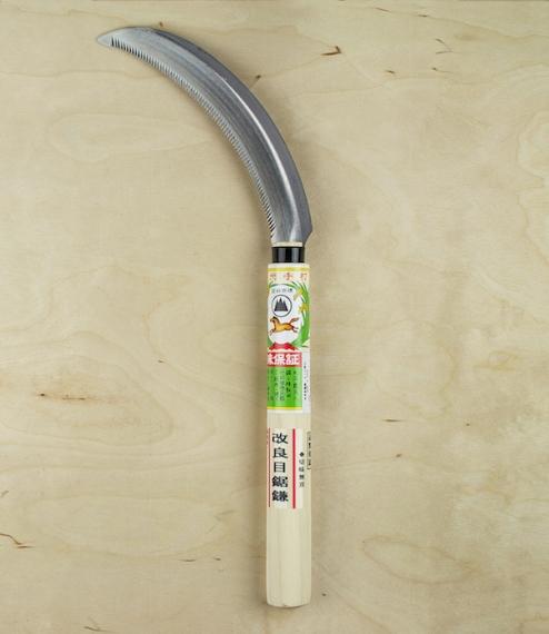 Japanese harvesting sickle