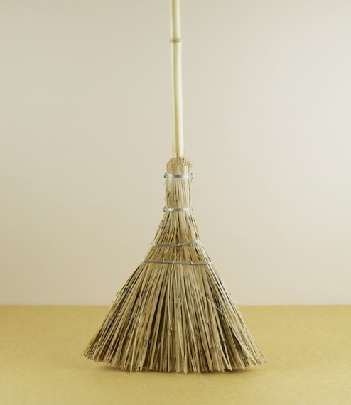 Bamboo outdoor broom
