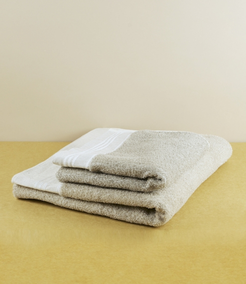 Linen friction hand towel