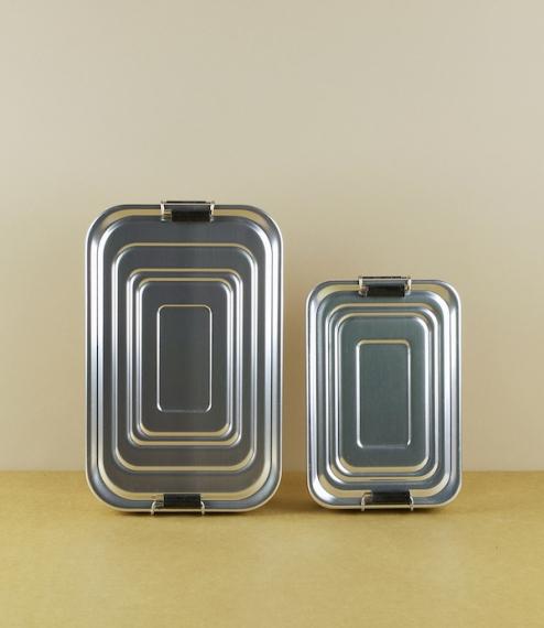 Aluminium lunch-boxes