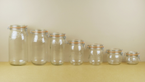Le Parfait preserving jars