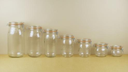 Le Parfait preserving jars