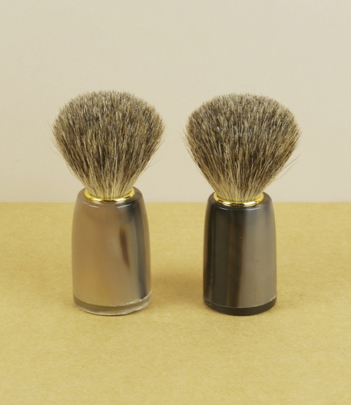 Shaving brush no.3 – Ox-horn