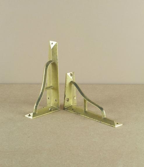 Brass ihada shelf brackets