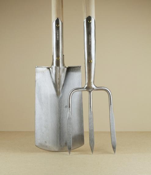 Sneeboer spade and fork