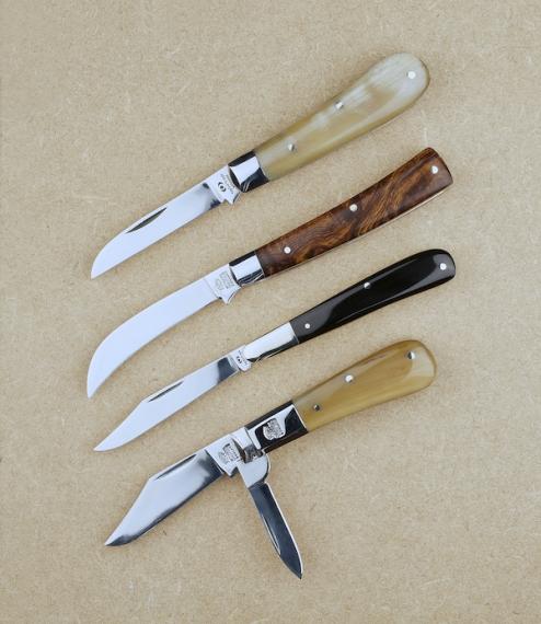 Artisan pocket knives