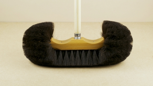 Horse hair Vienna broom