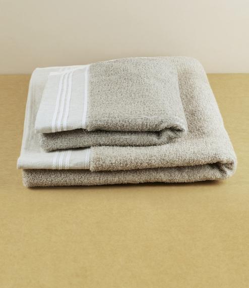 Linen friction towels