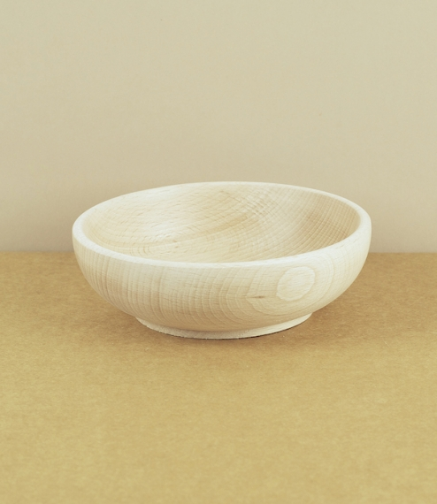 Wooden baby or cereal bowl