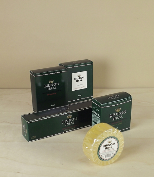 Musgo Real, Portuguese shaving soaps and lotions