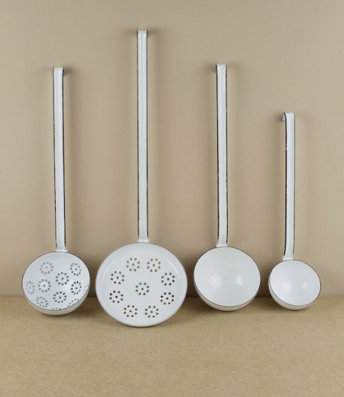 Enamel ladles