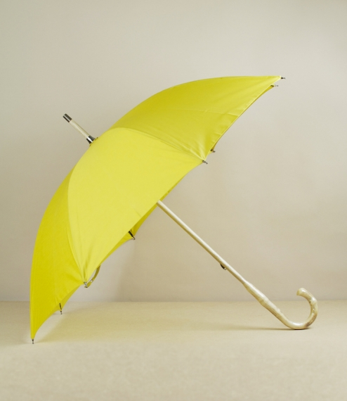 Fit-up umbrella, yellow