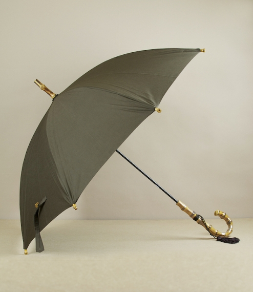 Whangee umbrella, olive