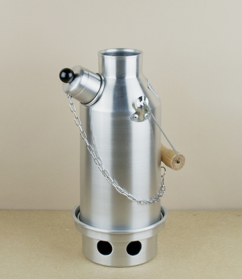 Aluminium whistling Ghillie Kettles, spun and assembled in Worcestershire, England. Thought by many to be the ultimate camping kettle, the Ghillie is ..