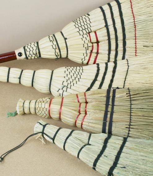 Japanese hand brooms - Gunma & Tsuga
