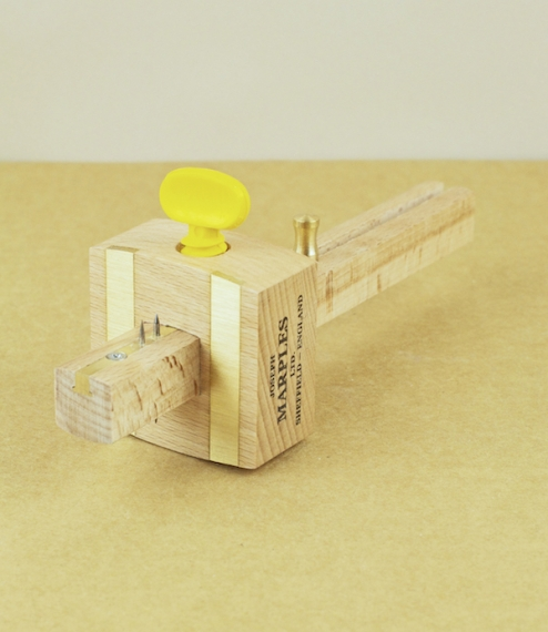Combination marking and mortise gauge