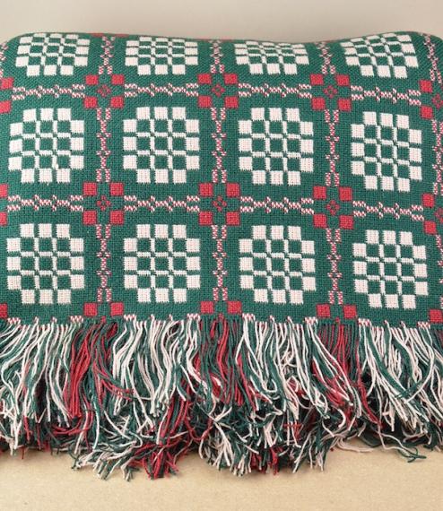 Pennsylvania pattern Welsh throws & blankets