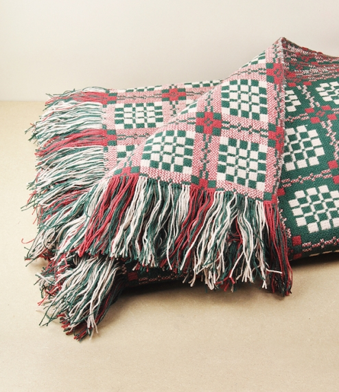 Pennsylvania pattern Welsh throws & blankets