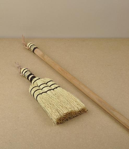 Sorghum brooms