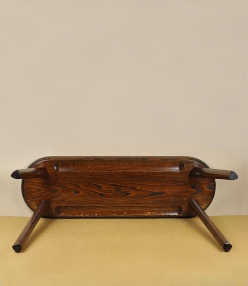Ibazen long stool or bench