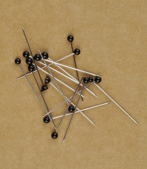 Black headed pins (20g or about 175)