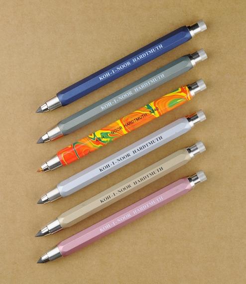 Artist's 5.6mm clutch pencils