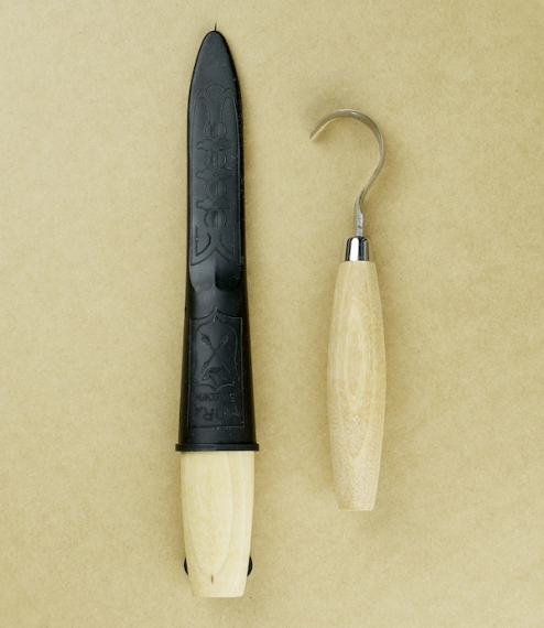 Erik Frost wood carving knives