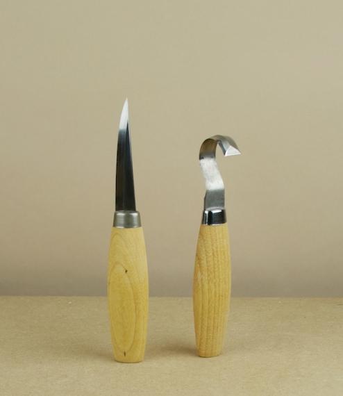 Erik Frost wood carving knives