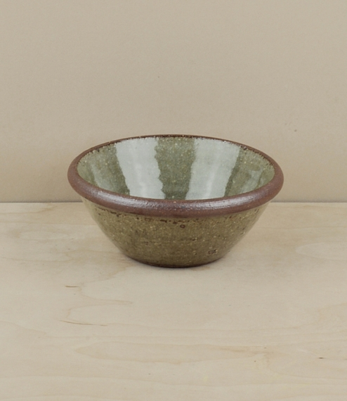 Small bowl, green (about 12cm dia)