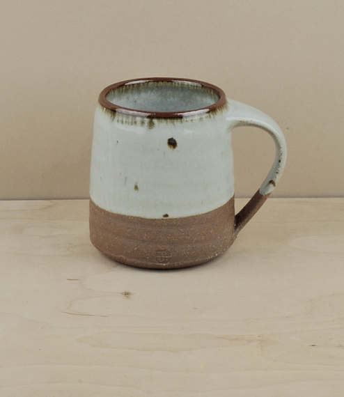 Large mug, white (about 9.5cm high)