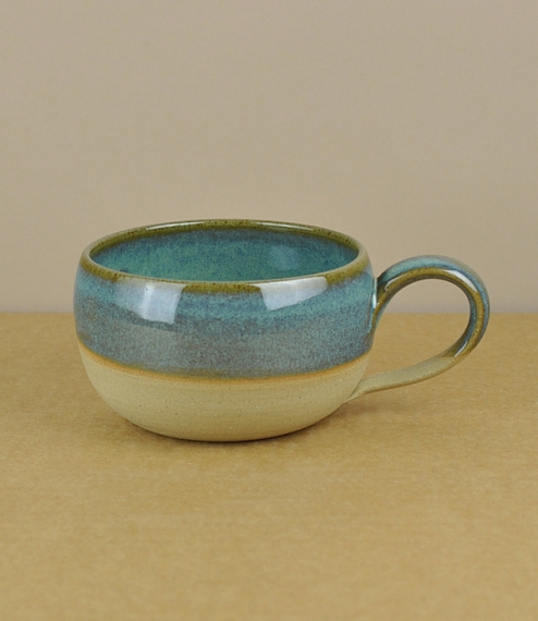 Evenlode coffee bowl blue