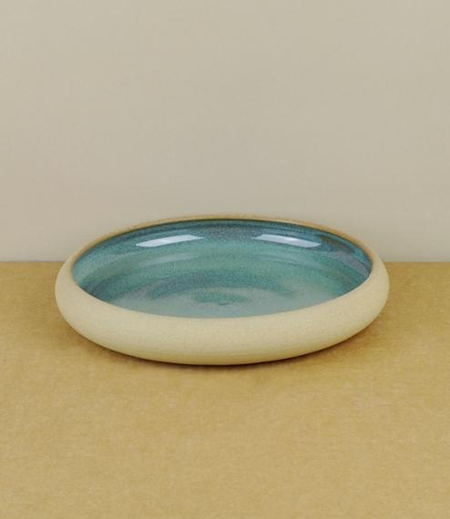 Evenlode dish blue