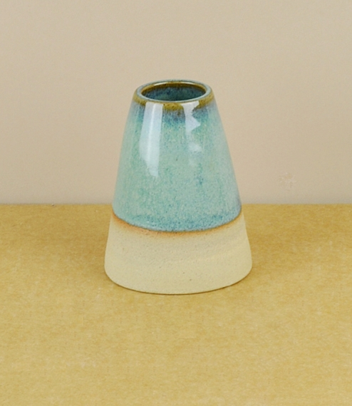 Evenlode vase blue