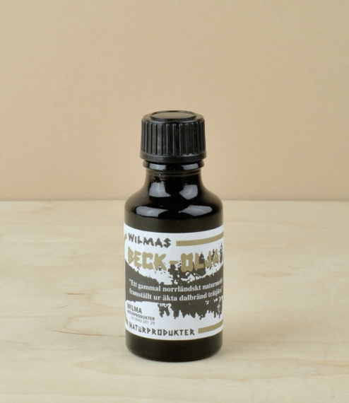 Pine tar oil harvested and kilned in the boreal forests of Swedish Lapland. Traditionally carried throughout northern Scandinavia, especially by those..