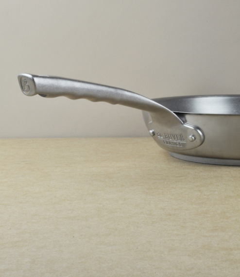 French stainless steel frying pans