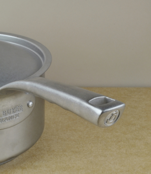 French stainless steel sauce pans