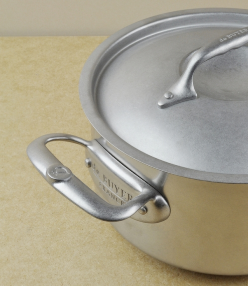 French stainless steel casseroles