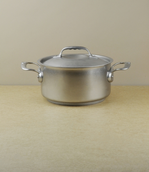 French stainless steel casserole/stew-pan, 3.0l, 20cm