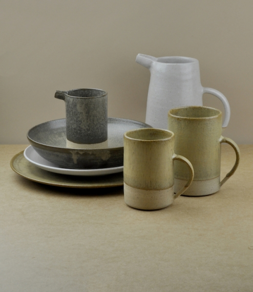 Hand-thrown in small batches, this range of stoneware is the creation of a husband and wife team based in Sheffield, South Yorkshire. Once thrown and ..