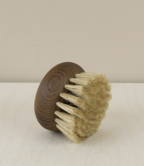 French body brush