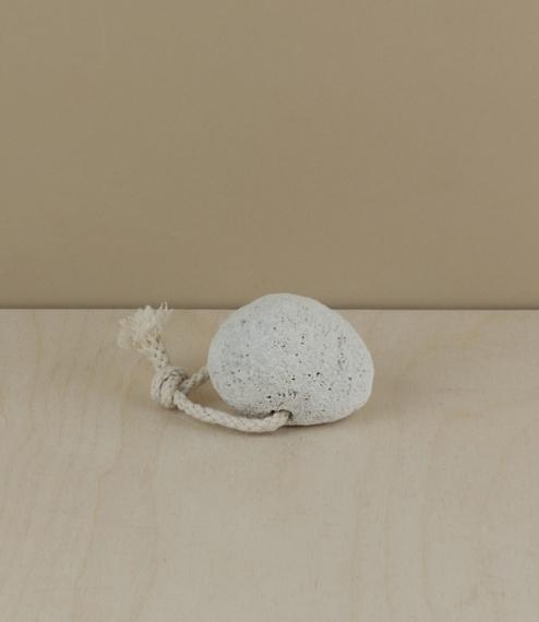 White pumice stone