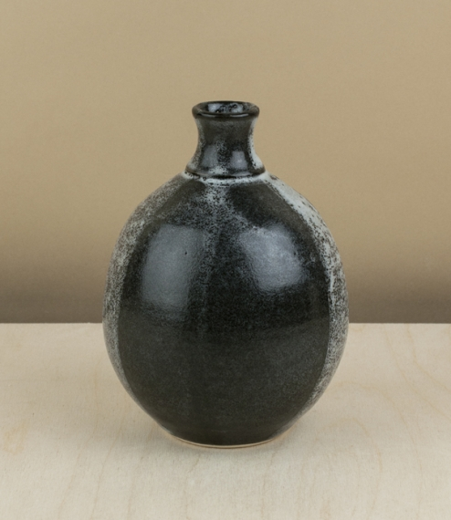 Oxford stoneware bottle vase
