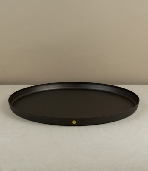 English baking sheets, trays, and dome
