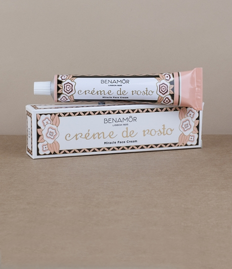 A 50ml aluminium tube of this moisturising, soothing, and smoothing anti-blemish face cream made with pearls, glycerine, and purifying rose oil to an ...